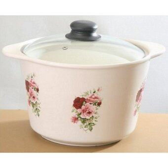 Harga Giacomo 5.7L High Quality Clay Pot (Rose Delight)