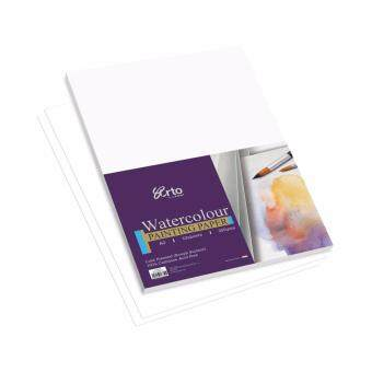 Harga Campap ARTO Watercolor painting paper pack( 100% cellulose) - 10 sheets - A3 size - 300 gsm