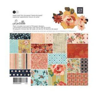 Harga Lucille Collection - 6 x 6 Paper Pad