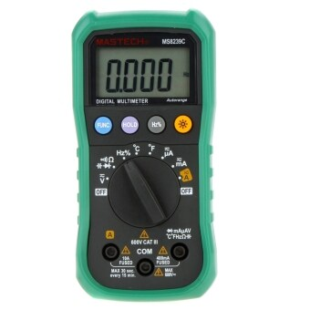 Harga MASTECH MS8239C Auto Ranging Digital Multimeters Volt Current Resistance Frequency Temp Capacitance Tester