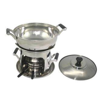 Harga Mini Hot Pot 16cm Stainless Steel