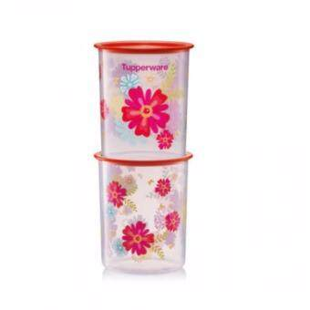 Harga Tupperware Fortune Blooms Canisters Small (1)pc 2.0L Only
