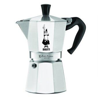 Harga Imported Bialetti 6800 Moka Express 6-Cup Stovetop Espresso Maker (Ready Stock Warranty Inc)