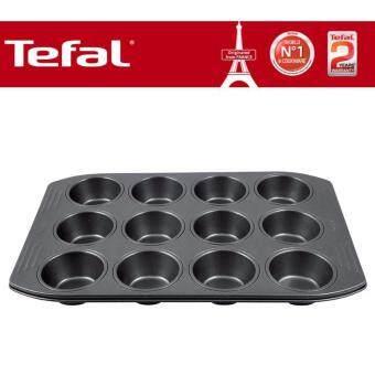 J08350- Tefal Easy Grip Grip Muffins x 12 (39 x 26cm)