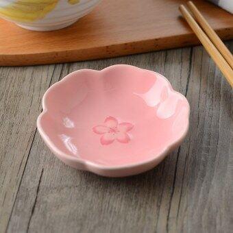 Japan and South Korea ceramic cherry sauce dish weidie