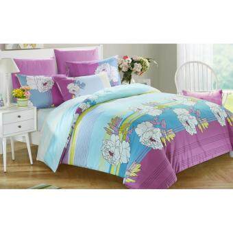 Harga Jean Perry Paisley Fitted Set-Marvin-728 Thread Count-Queen