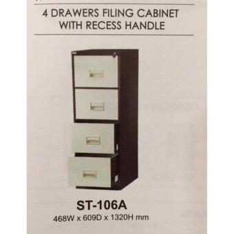 JFH S106A Filling 4 Drawer Cabinet