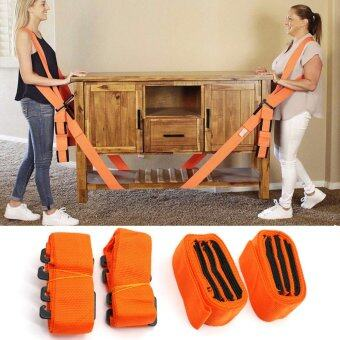 JinGle 1 Pair Lifting And Moving Straps Easily Carry FurnitureMagic Hand Strap Shoulder Strap