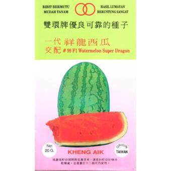 Harga KA99 SoonHuat F1 Super Dragon Watermelon 100seeds GMOfree DIYWatermelon seeds