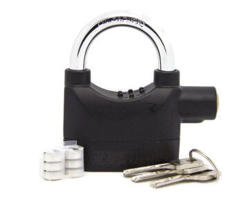 Harga Kinbar SIREN ALARM PADLOCK for DOOR/Motor/Bike/Car PAD LOCK