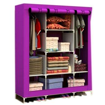 King Size Multifunctional Wardrobe - Velvet