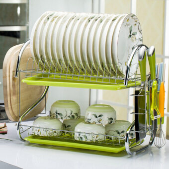 Kitchen shelf kitchen racks dish rack drain and water dishes RackCutting Board rack kitchen rack
