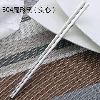 Korean large spoon stainless steel chopsticks
