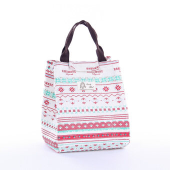 Harga Korean portable large lunch box portable lunch bag