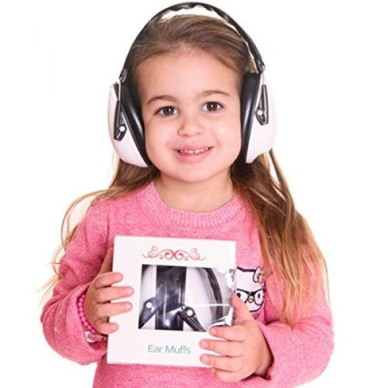 Buy [lamore]Earmuffs Hearing Protection for Kids & Adults:Absolute Hearing Protection Noise Cancelling Headphones. Baby, Toddler & Infant Airplane Ear Muffs, Sound Blocking Earphones (Black and wh Malaysia