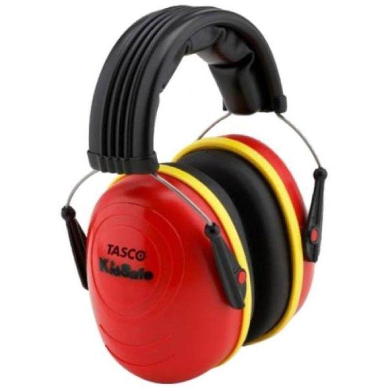 Buy [lamore]Tasco 2512 Kidsafe Over-the-Head Earmuffs, NRR=25, Red Malaysia