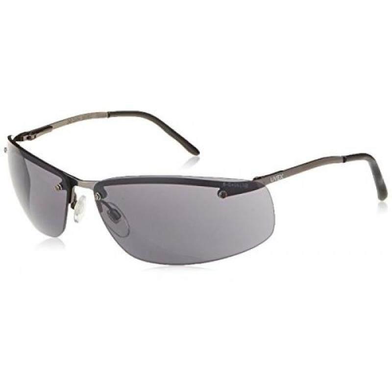 Buy [lamore]Uvex S4111X Slate Safety Eyewear, Matte metal Frame, Gray Uvextra Anti-Fog Lens Malaysia