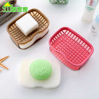 Harga Laundry soap box bathroom European large sponge soap box
