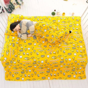 Harga Lazy lazy egg Winter Air-Conditioned Double sheets flannel blanket