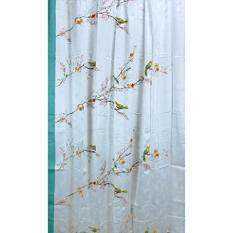 Lenox Simply Fine Chirp Shower Curtain, Multi Color