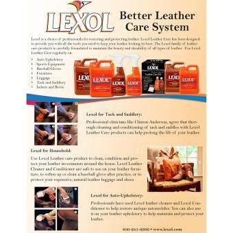 Lexol Leather Restoration Kit - 3