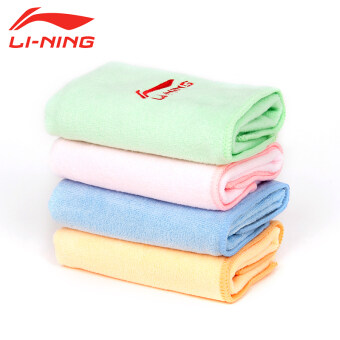 Li Ning LINING swimming towel absorbent quick-drying Fitness Sportsbeach adult men and women tide spa quick-drying bath towel