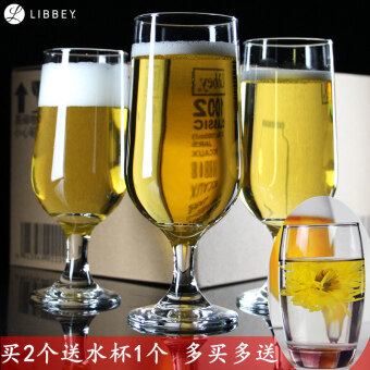 Libby glass tall beer cup juice cup
