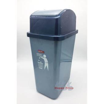 Lion Star Swing N' Toss Swing-Top Wastebasket Recycle Bin, 14 litDustbin, Trash Bin - 2