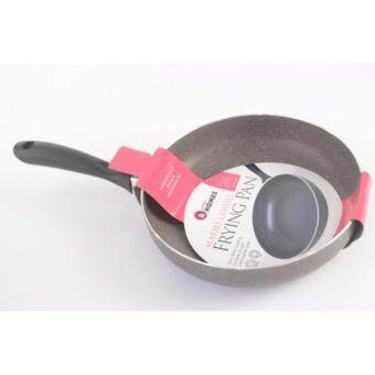 Harga LITTLE HOMES MARBLE NON-STICK FRYING PAN 24CM