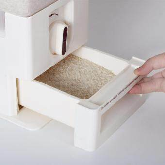 Locaupin Rice Dispenser 15KG Rice Container