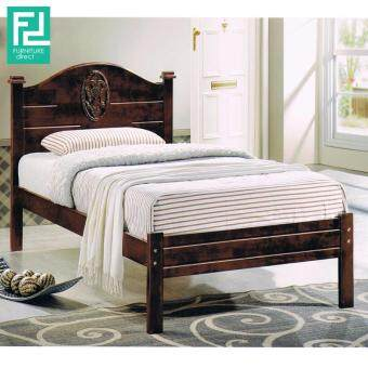 LOUIS single size wooden bed frame