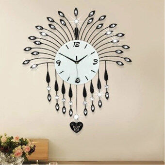 where to shop for luxurious wall clocks living room decorati