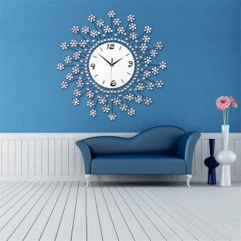 Luxurious Wall Clocks Living Room Decorative Modern Style (White) Part 68