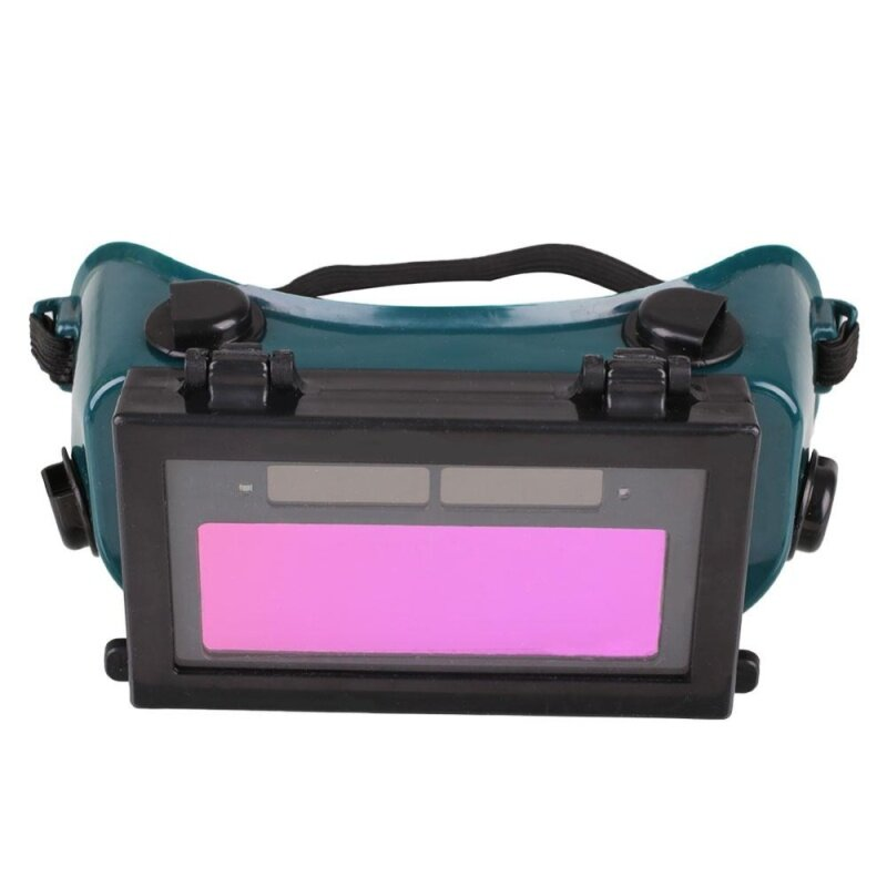 Buy MagicWorldMall Professional Tools Solar Auto Darkening LCD Welding Glasses Helmet Protection Welder Goggles Malaysia