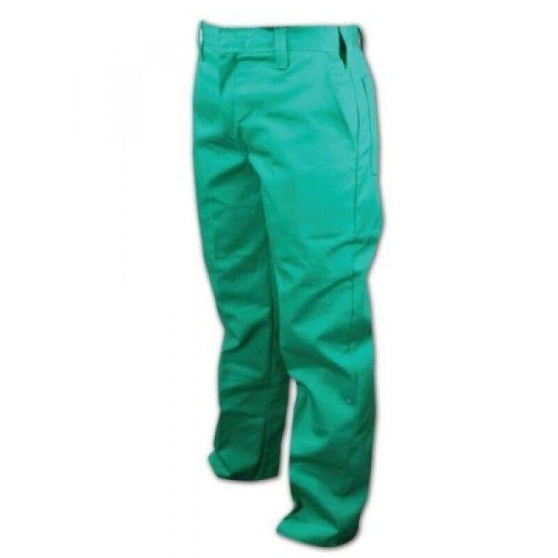 Magid parkGuard Cotton Flame Resistant Heavyweight Pant, 40 Waist x 30 Length, Green