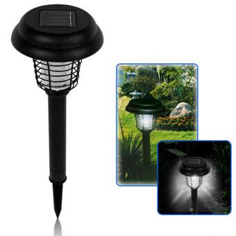 Marstec Outdoor UV LED Solar Powered Lawn Light Anti MosquitoInsect Pest Bug Zapper Killer Yard Garden Lawn Light Lamp