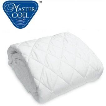 Mastercoil mattress protector for Single bed mattress - washable ant-dustmite anti-microbail