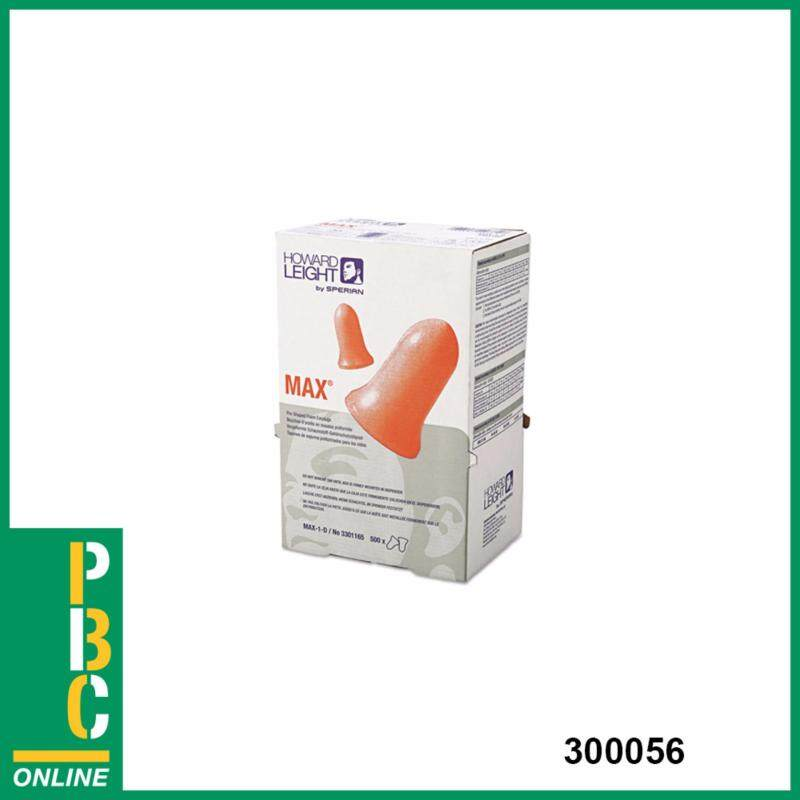 MAX UNCORDED EARPLUGS  FOR LS-500 REFILL, 4X500/BX - 1 PAIR