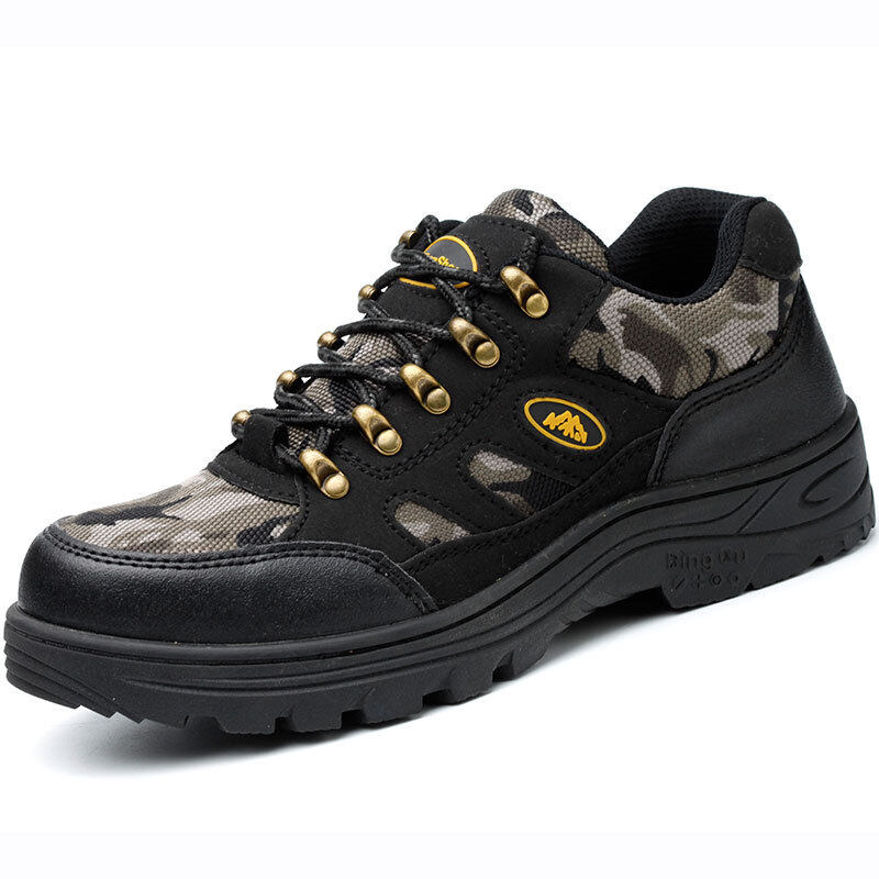 Buy Men steel head anti-smashing anti-stab Wear lightweight safety shoes protective shoes Malaysia