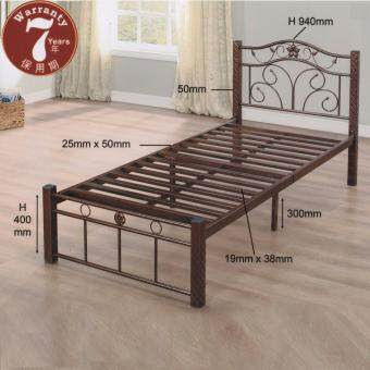 Harga Metal SOLID EXTRA STRONG Mild Single Metal Bed Frame
