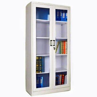 Harga Metallurgic Double Glass Door Steel Metal Locker