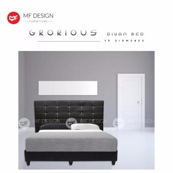 mf design grorious queen size divan bed frame