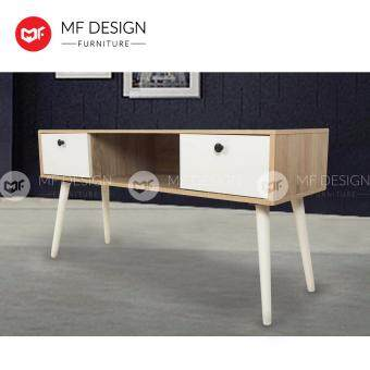 Harga MF DESIGN MORIS 4 FEET TV CABINET (SCANDINAVIAN DESIGN)( KABINET TV) (MODERN) (WHITE)