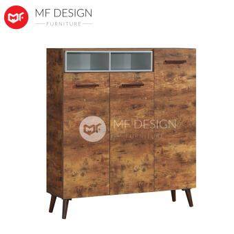 Harga MF DESIGN NOTISGEN 3 DOOR SHOE CABINET