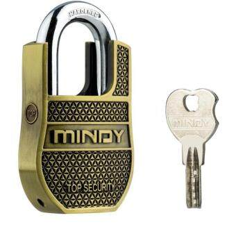 Harga Mindy 60mm AF8-60 Heavy Duty Padlock with Keys Unique Style SpecialChains Lock,1-Pack High Security Padlock