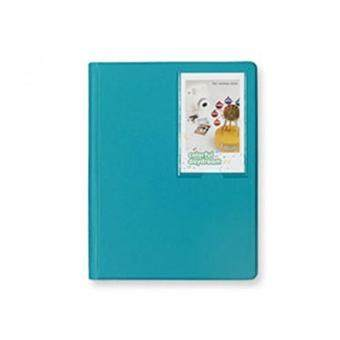 Mini Polaroid Photo Album Instant Fujifilm Instax Camera Album Large (Peacock Green)