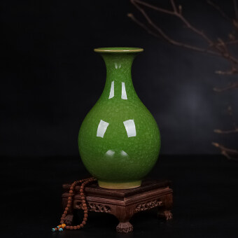 Modern old-style crack glaze small vase ceramic porcelain