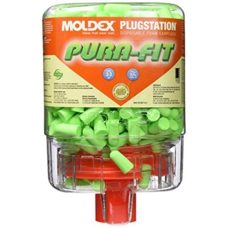 Moldex 507-6844 Plugstation Earplug Dispensers, Long Taper Foam, Uncorded, One Size (Pack of 250)