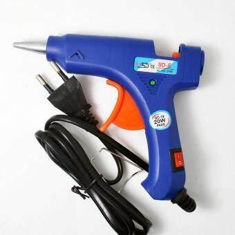 20w - Moonar Electric Hot Melt Glue Gun, Blue Mini Hot Melt .