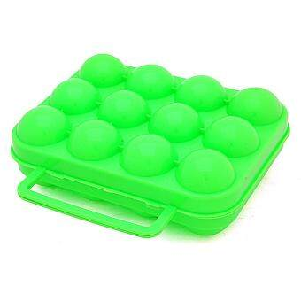 Harga Moonar Portable egg box, shockproof, anti pressure egg holder (12lattices)